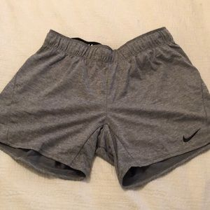 Grey Nike Athletic Shorts